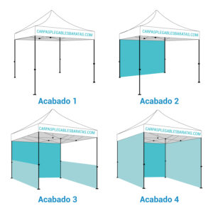 Carpa plegable barata