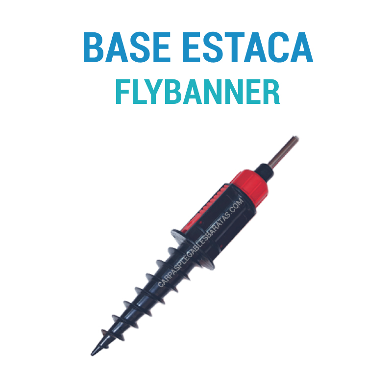 Flybanner base estaca carpas plegables baratas Carpas plegables baratas