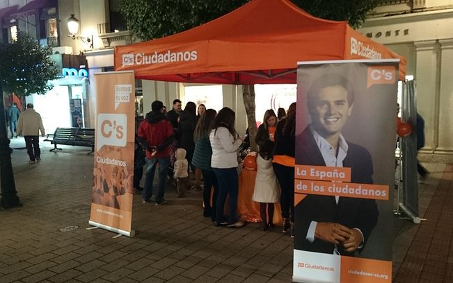 Carpas eventos politicos